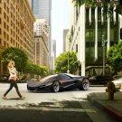 "Ferrari XEZRI Project Concept Car Poster Print on 10 mil Archival Satin Paper 16"" x 12"""