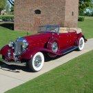 "Chrysler Imperial Lebaron (1933) Car Poster Print on 10 mil Archival Satin Paper 16"" x 12"""