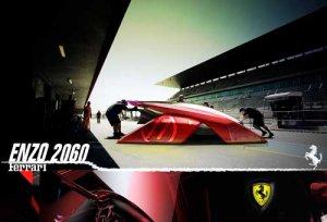 Ferrari Enzo 2060 Concept Car Poster Print on 10 mil ...