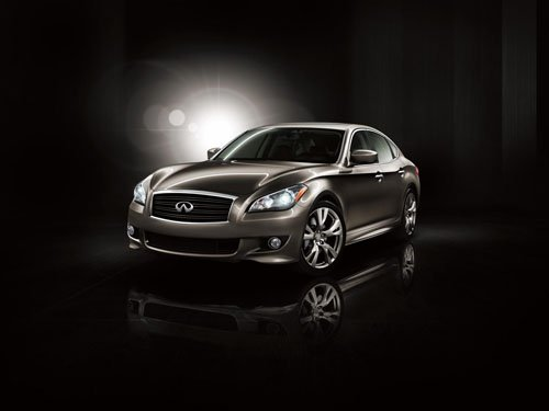 "Infiniti Series M Sedan Car Poster Print on 10 mil Archival Satin Paper 36"" x 24"""