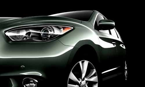 "Infiniti JX Concept Car Poster Print on 10 mil Archival Satin Paper 25"" x 17"""