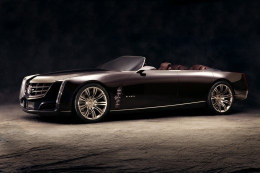 "Cadillac Ciel Concept Car Poster Print on 10 mil Archival Satin Paper 20"" x 15"""