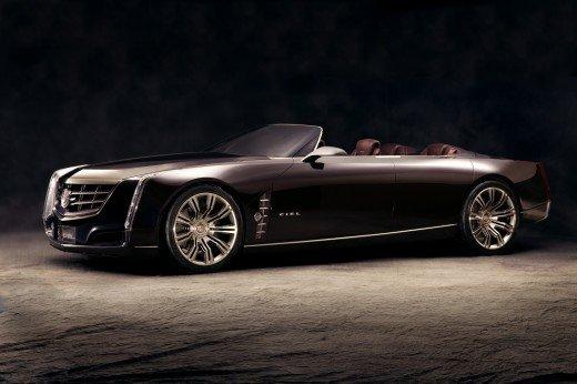 "Cadillac Ciel Concept Car Poster Print on 10 mil Archival Satin Paper 24"" x 18"""