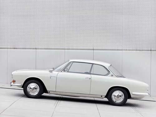 "BMW 3200 CS Bertone (1965) Car Poster Print on 10 mil Archival Satin Paper  16"" x 12"""