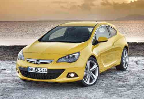 """Opel Astra GTC Car Poster Print on 10 mil Archival Satin Paper 24"""" x 18"""""""