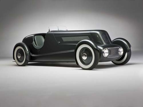 """Ford Model 40 (1934) Special Speedster Car Poster Print on 10 mil Archival Satin Paper  16"""" x 12"""""""