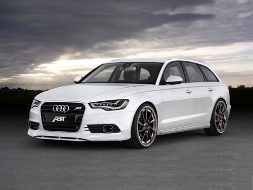 "ABT Sportsline Audi A6 Avant Car Poster Print on 10 mil Archival Satin Paper 20"" x 15"""