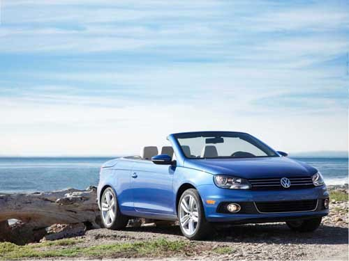 """Volkswagen Eos (2012) Car Poster Print on 10 mil Archival Satin Paper 20"""" x 15"""""""