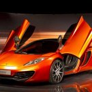 "Mclaren MP4 12C Bespoke Edition Car Poster Print on 10 mil Archival Satin Paper 16"" x 12"""