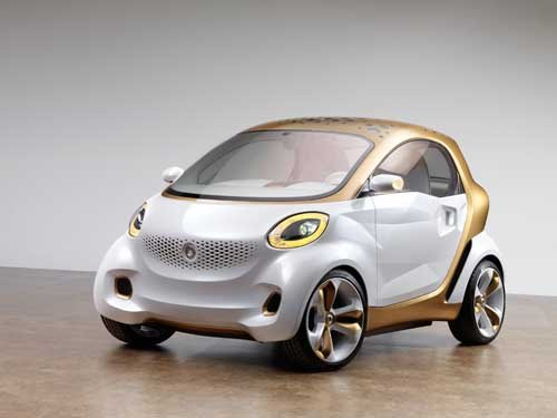 """Smart Forvision (2011) Car Poster Print on 10 mil Archival Satin Paper 16"""" x 12"""""""