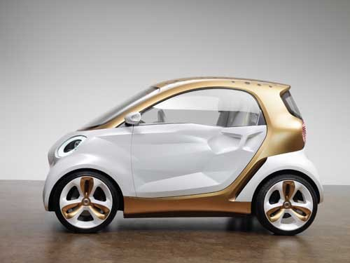 """Smart Forvision (2011) Car Poster Print on 10 mil Archival Satin Paper 36"""" x 24"""""""