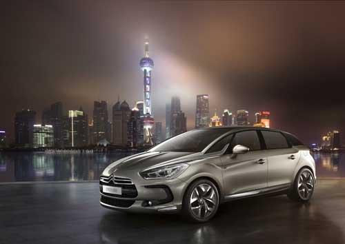 "Citroen DS5 Shanghai (2012) Car Poster Print on 10 mil Archival Satin Paper 36"" x 24"""