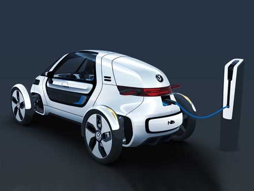 "Volkswagen Nils Concept Car Poster Print on 10 mil Archival Satin Paper 24"" x 18"""