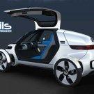 "Volkswagen Nils Concept  Car Poster Print on 10 mil Archival Satin Paper 36"" x 24"""