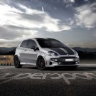 "Fiat Abarth Punto SuperSport (2012) Car Poster Print on 10 mil Archival Satin Paper 16"" x 12"""