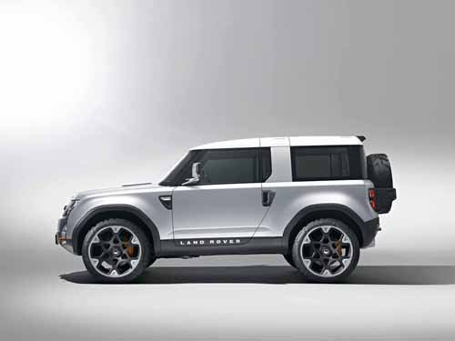 """Land Rover DC100 Concept Car Poster Print on 10 mil Archival Satin Paper 20"""" x 15"""""""