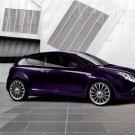 "Alfa Romeo Mi.To Twinair Car Poster Print on 10 mil Archival Satin Paper 20"" x 15"""