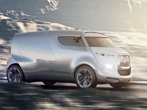 "Citroën Tubik Concept Car Poster Print on 10 mil Archival Satin Paper 16"" x 12"""