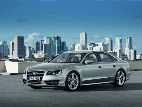 "Audi S8 (2012) Car Poster Print on 10 mil Archival Satin Paper 16"" x 12"""