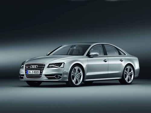 "Audi S8 (2012) Car Poster Print on 10 mil Archival Satin Paper 36"" x 24"""