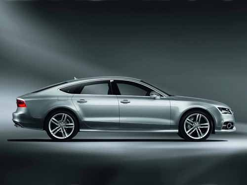 "Audi S7 Sportback (2012) Car Poster Print on 10 mil Archival Satin Paper 36"" x 24"""