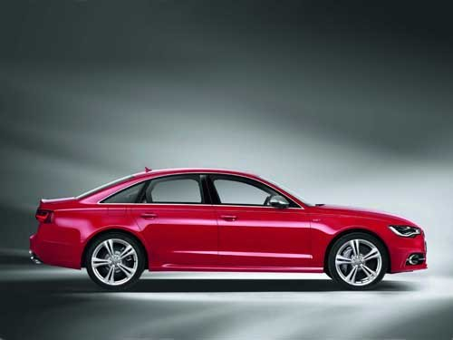 "Audi S6 (2012) Car Poster Print on 10 mil Archival Satin Paper 16"" x 12"""