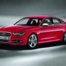 "Audi S6 (2012) Car Poster Print on 10 mil Archival Satin Paper 36"" x 24"""