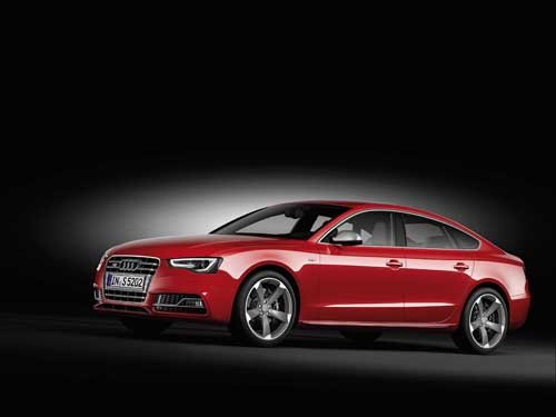 "Audi S5 Sportback (2012) Car Poster Print on 10 mil Archival Satin Paper 16"" x 12"""