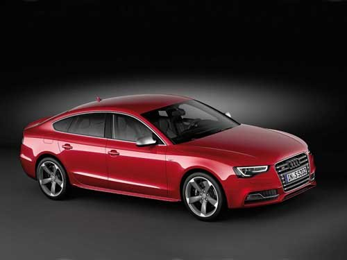 "Audi S5 Sportback (2012) Car Poster Print on 10 mil Archival Satin Paper 36"" x 24"""