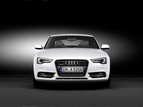 "Audi A5 (2012) Car Poster Print on 10 mil Archival Satin Paper 36"" x 24"""