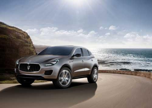"Maserati Kubang (2011) Car Poster Print on 10 mil Archival Satin Paper 36"" x 24"""