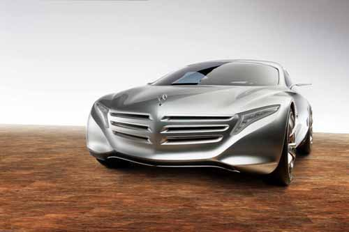 """Mercedes-Benz F 125! Concept Car Poster Print on 10 mil Archival Satin Paper 36"""" x 24"""""""