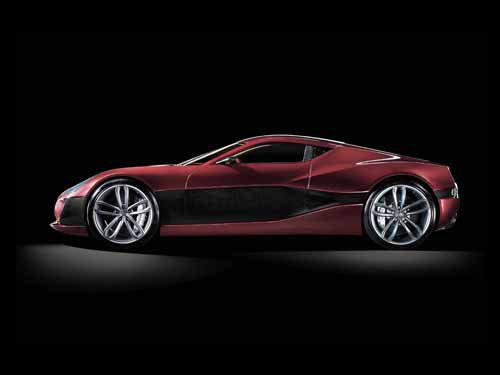 """Rimac Concept One Car Poster Print on 10 mil Archival Satin Paper 36"""" x 24"""""""