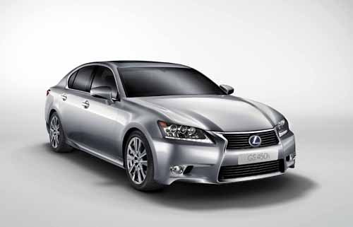 "Lexus GS 450H Car Poster Print on 10 mil Archival Satin Paper 36"" x 24"""