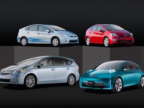 "Toyota Prius c Concept Car Poster Print on 10 mil Archival Satin Paper 24"" x 16"""