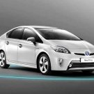 "Toyota Prius Hybrid Car Poster Print on 10 mil Archival Satin Paper 24"" x 16"""