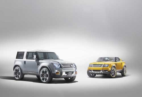 """Land Rover DC100 & DC100 Sport Concept Car Poster Print on 10 mil Archival Satin Paper 20"""" x 15"""""""
