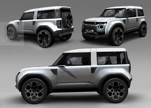"""Land Rover DC100 Concept Car Poster Print on 10 mil Archival Satin Paper 36"""" x 24"""""""
