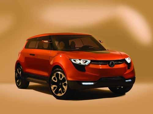 "SsangYong XIV-1 Concept Car Poster Print on 10 mil Archival Satin Paper 16"" x 12"""