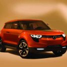 "SsangYong XIV-1 Concept Car Poster Print on 10 mil Archival Satin Paper 24"" x 16"""