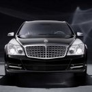 "Maybach Edition 125 Car Poster Print on 10 mil Archival Satin Paper  16"" x 12"""
