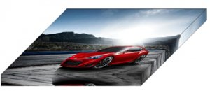 "Scion FR-S Sports Coupe Concept Car Archival Canvas Print (Mounted) 16"" x 12"""