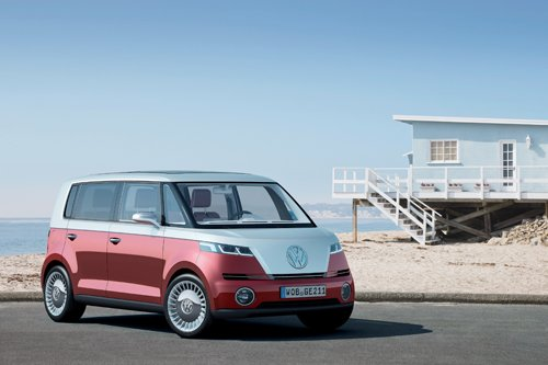 "Volkswagen Bulli Concept Car Poster Print on 10 mil Archival Satin Paper 36"" x 24"""