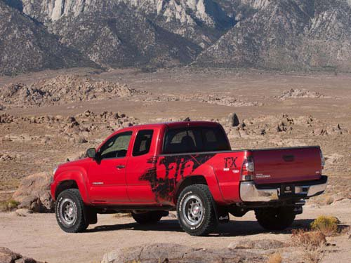 """Toyota Tacoma TRD T/X Baja Limited Edition Truck Poster Print on 10 mil Archival Satin Paper 16""""x12"""""""