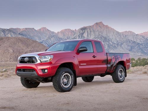 """Toyota Tacoma TRD T/X Baja Limited Edition Truck Poster Print on 10 mil Archival Satin Paper 20""""x15"""""""