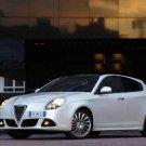 """Alfa Romeo Giulietta Car Poster Print  on 10 mil Archival Satin Paper 20"""" x 15"""""""