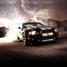 "Ford Shelby Mustang GT500 (2012) Car Poster Print on 10 mil Archival Satin Paper 16"" x 12"""
