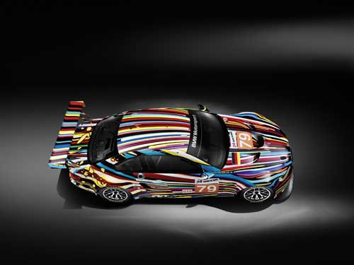 "BMW M3 GT2 Art Car Poster Print on 10 mil Archival Satin Paper 36"" x 24"""