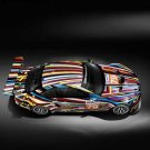 "BMW M3 GT2 Art Car Poster Print on 10 mil Archival Satin Paper 36"" x 24"""
