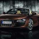 "Audi R8 Spyder Roadster Car Poster Print on 10 mil Archival Satin Paper 36"" x 24"""